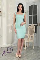 Приталенное платье на бретелях 0130/02, фото 1