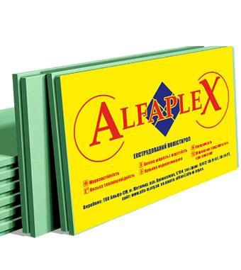 ЭКСТРУДИРОВАННЫЙ ПЕНОПОЛИСТИРОЛ АЛЬФАПЛЕКС (ALFAPLEX) 20*1200*550 (20) (0,0132м3)