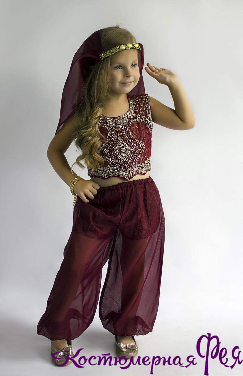 Восточная красавица, детский карнавальный костюм (код 26/5 )