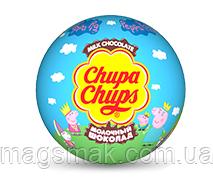 "Шоколадный шар (яйцо) c сюрпризом ""Chupa Chups"", Choco balls Свинка Пеппа."