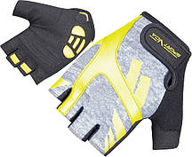 Перчатки для фитнеса SportVida SV-AG00031 (XS) Black/Yellow