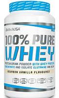 Сывороточный протеин BioTech - 100% Pure Whey (908 грамм) strawberry/клубника