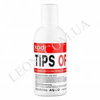 Жидкость для снятия искусственных ногтей Kodi Tips Off 250 мл..