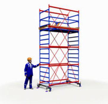 Вышка тура ПСРВ 1,2х2.0м  (3+1), рабочая высота 6,2м