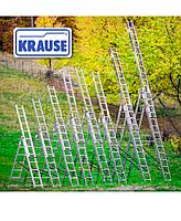 Лестница KRAUSE Corda 3/9 алюминиевая трехсекционная универсальная