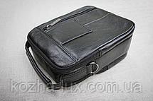 Мужская сумка из натуральной кожи модель B-3092, фото 3