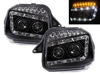 Фары Suzuki Jimny  тюнинг оптика  (черные)