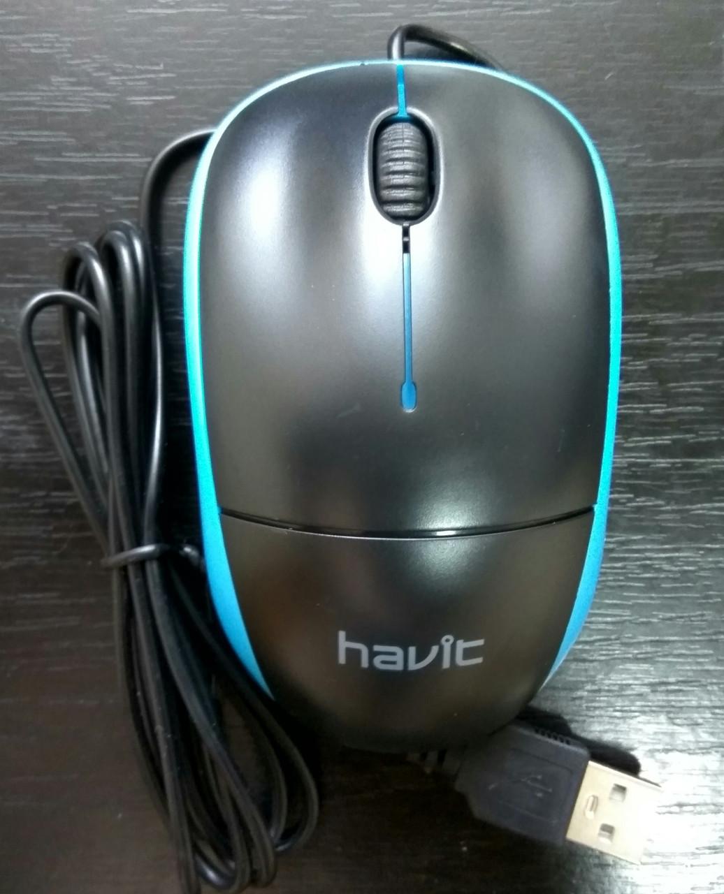 Компьютерная мышка Havit HV-MS 851 USB разные цвета