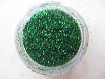 """Украшение для дизайна ногтей """"Песок"""", цвет зеленый"""