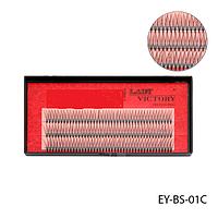 Вії EY-BS-01C пучкові, 12 мм