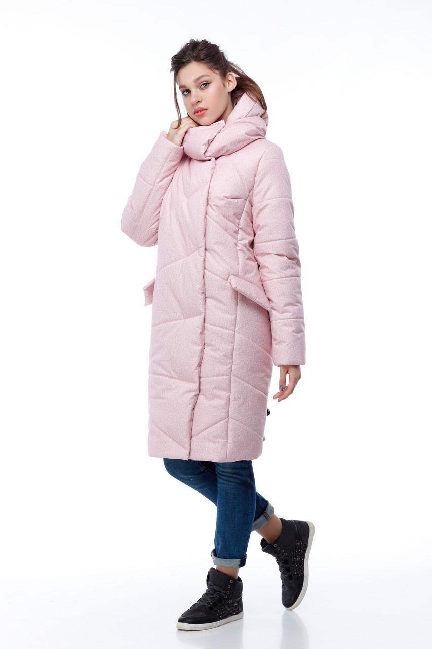 Стильный и модный бочонок-пуховик, для сильных морозов до -30! зимний пуховик 2019 в размерах 42-54