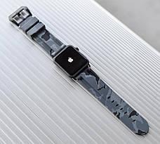 Ремешок для Apple iWatch 42 mm Camouflage Серый, фото 2