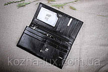 Кошелек женский кожаный B-601 чёрный Braun Buffel, натуральная кожа, фото 2