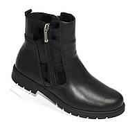 Зимние ботинки с двумя молниями, фото 1