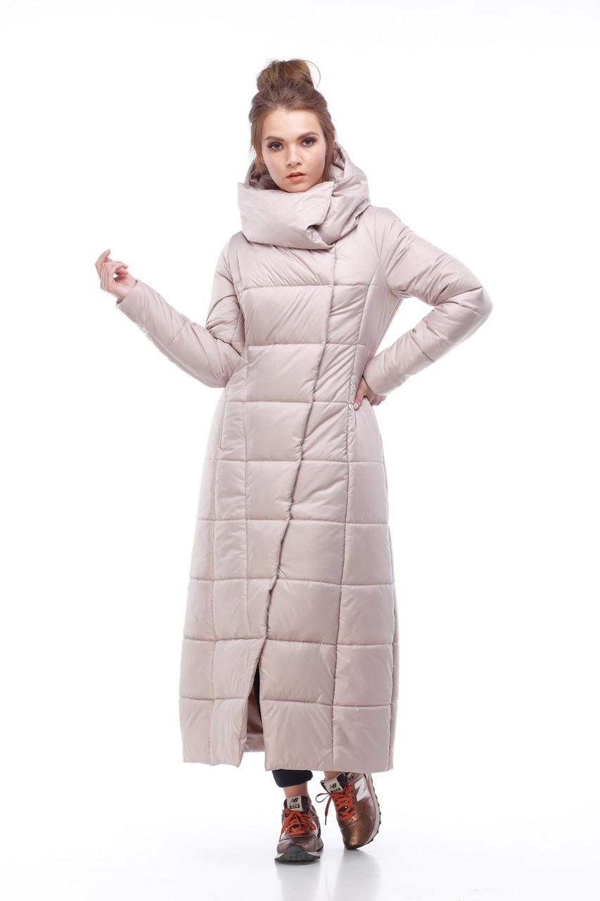 c3da90e1935 Модный тренд - зимнее длинное пальто пуховик - Модный магазин в Киевской  области