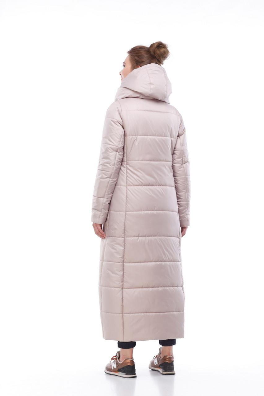 7d652bcdc06 Купить Модный тренд - зимнее длинное пальто пуховик по выгодной цене ...