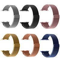 Ремешок металл Milanese Loop for Apple Watch 42/44mm (rose gold)
