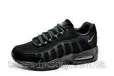 Кроссовки мужские в стиле Nike Air Max 95, Triple Black (Аир Макс), фото 2