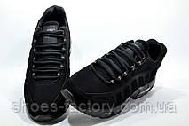 Кроссовки мужские в стиле Nike Air Max 95, Triple Black (Аир Макс), фото 3