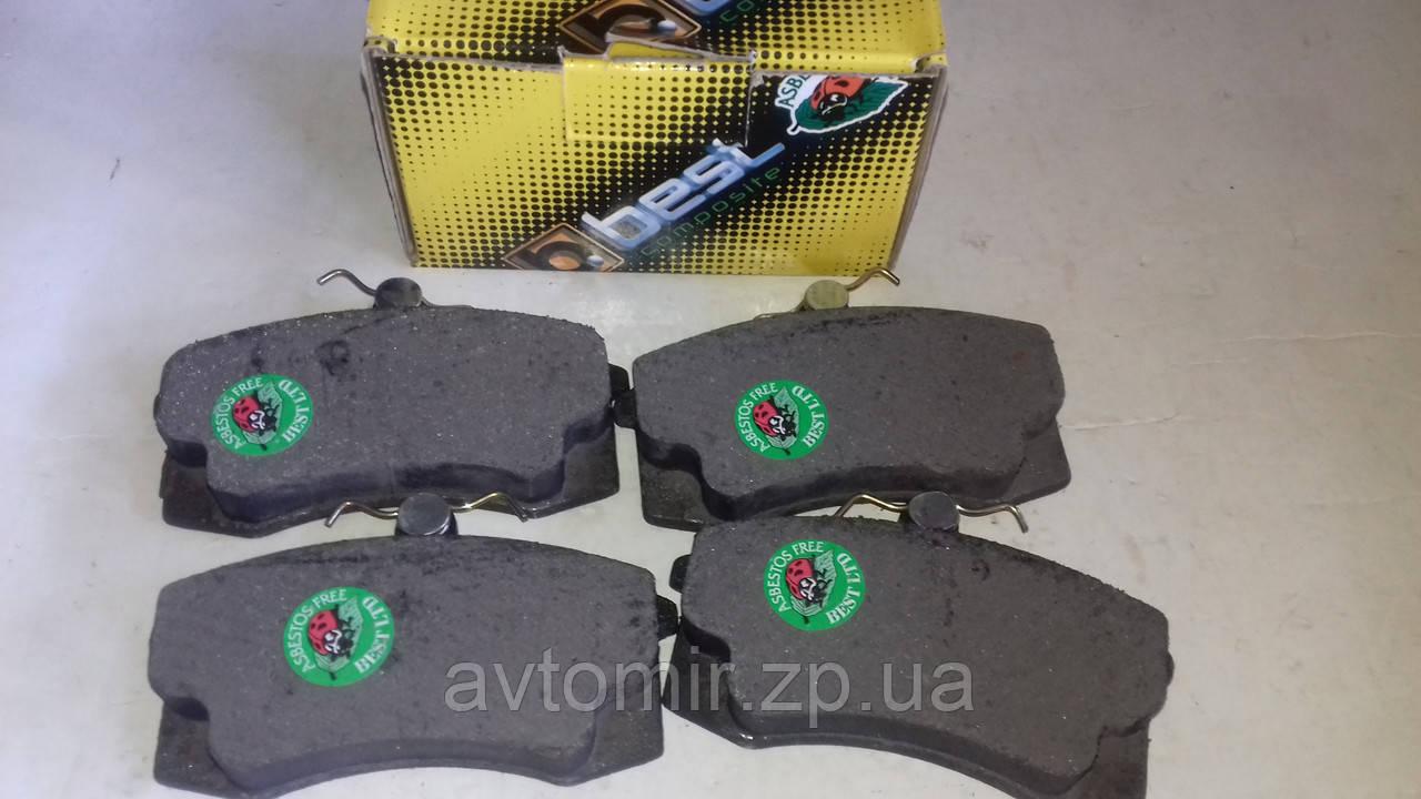 Колодки тормозные передние Ваз 2108-099,2113-2115 BEST