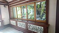 Деревянные окна БОСКО