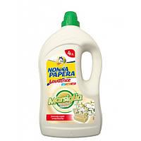 NONNA PAPERA Рідкий засіб для прання з марсельським милом білий мускус 4 л.
