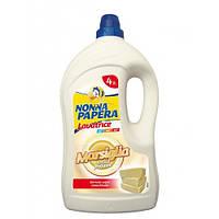 NONNA PAPERA Рідкий засіб для прання з марсельським милом на 50 прань 4 л.
