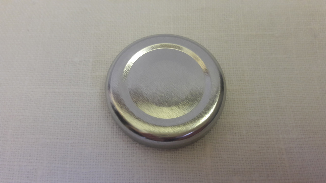 Крышка закаточная твист-офф размер 58 мм серебро