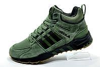 Кроссовки на зиму в стиле Adidas Equipment Torsion, Green
