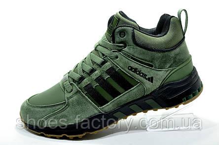 Кроссовки на зиму в стиле Adidas Equipment Torsion, Green, фото 2