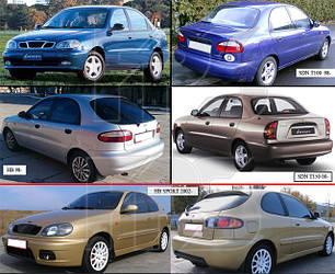 Кузовные запчасти для Daewoo Lanos 1998-