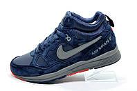 Зимние кроссовки с мехом в стиле Nike Air Span 2, Синий