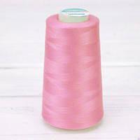 Нитки швейные 50/2 (5000Y) цвет розовый