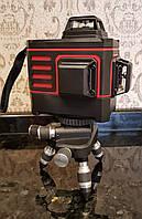 Лазерный уровень 3D линии на 360 градусов  KaiTian 3D на акамуляторах 18650 Новинка 2018 г
