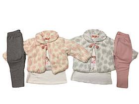 Комплекты для девочек утеплённые оптом, размеры 1-5 лет Grace  арт. G82700