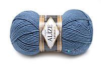 Alize Lana Gold, Темный джинс №381