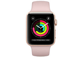 Смарт-часы Apple Watch Series 3 42mm Gold Aluminum Case  (MQL12), фото 2