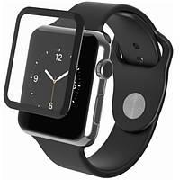Защитное стекло на весь экран for Apple Watch 38mm (black)