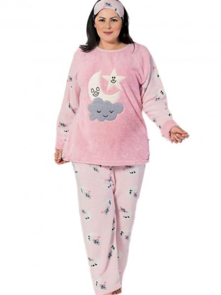 Махровая пижама женская большого размера Турция — купить недорого в ... 9caaa9401a7d9