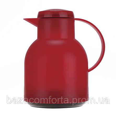 Термочайник 2084 пластиковый со стеклянной колбой Kamille 1000мл, фото 2