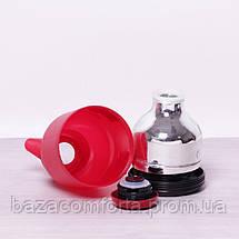 Термочайник 2084 пластиковый со стеклянной колбой Kamille 1000мл, фото 3