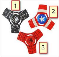 Fidget Spinner triple blades Marvel (01)