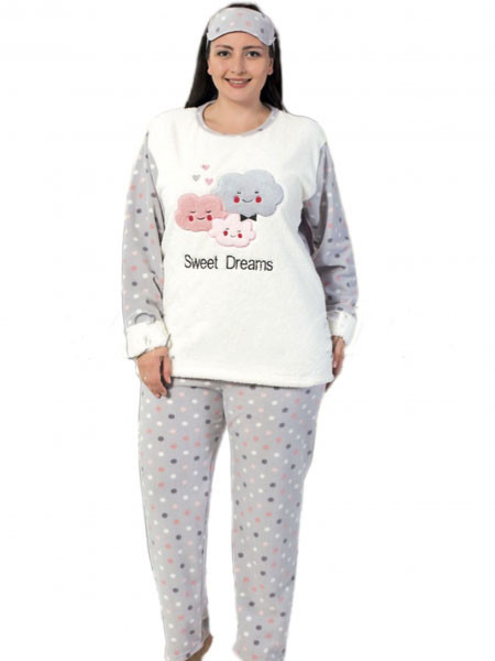 Женская пижама тёплая батал Турция — купить недорого в Харькове в ... 342b68495cbd0