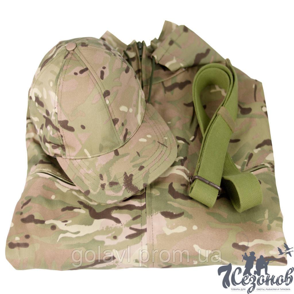 Комплект камуфляжного костюма Мультикам (Размер-48)