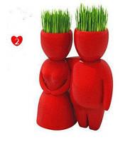 Фигурки травянчиков декоративные Пара