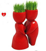 Декоративная композиция Поцелуй травянчики