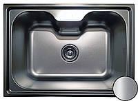 Кухонная мойка Platinum 6043 Satin 0,8мм