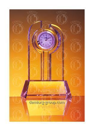 Часы сувенирные в стекле