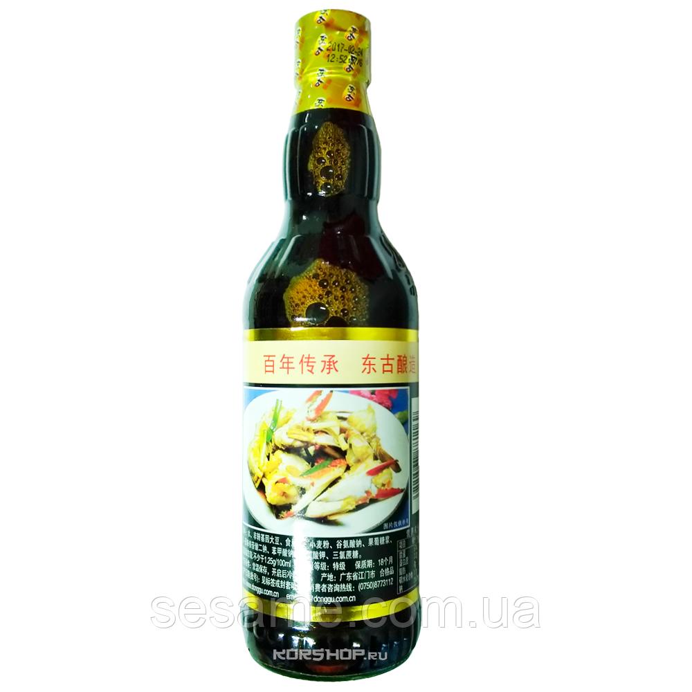 Крабовый соевый соус (Tasty Seafood Flavored)  в стекле 500ml (Китай)