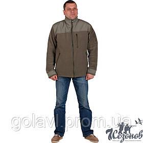 Куртка флисовая c накладками – цвет Хаки